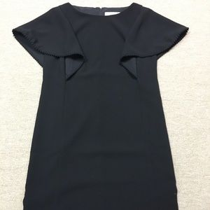 NWOT Loft flutter sleeve Shift Dress